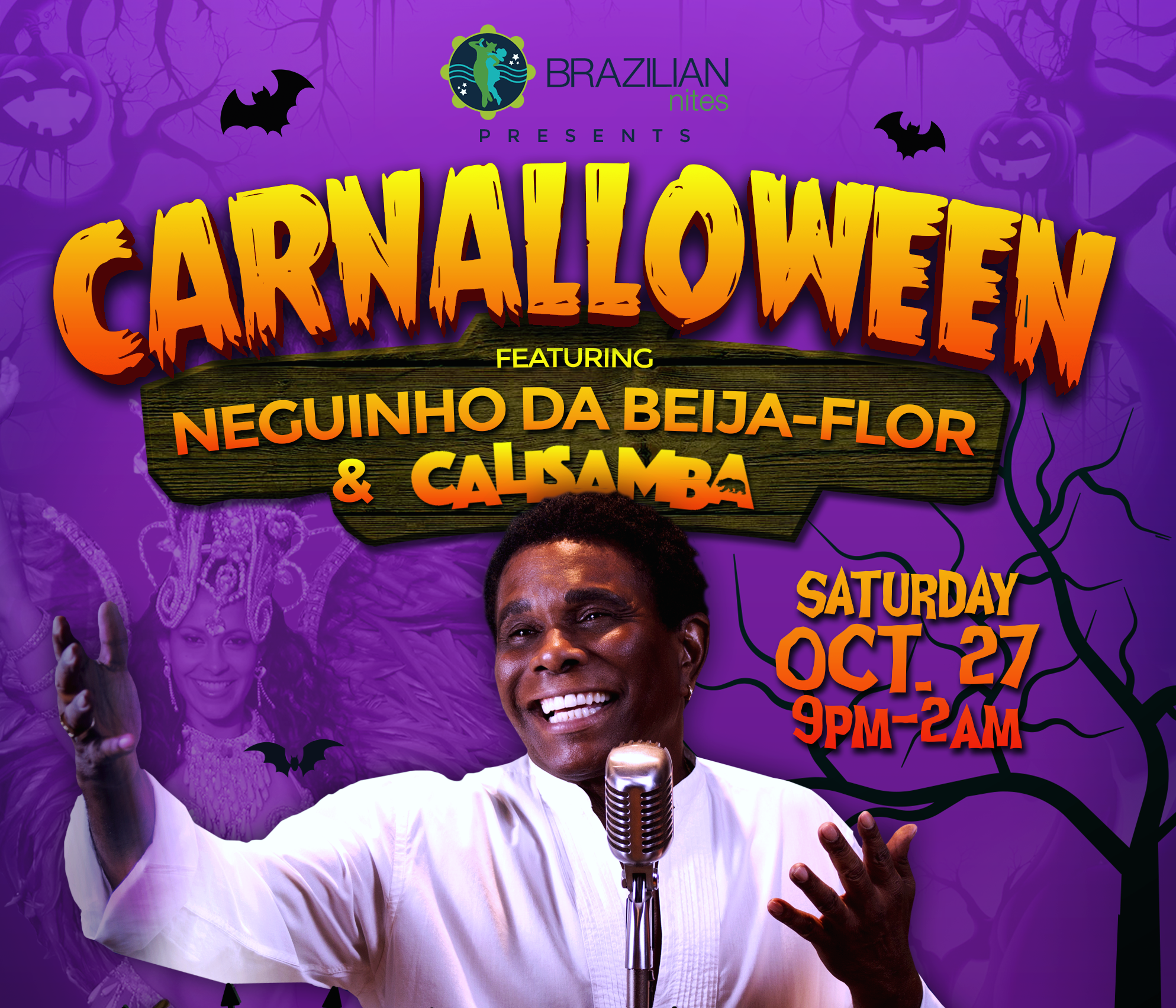 Rio's Carnaval spirit comes to Halloween