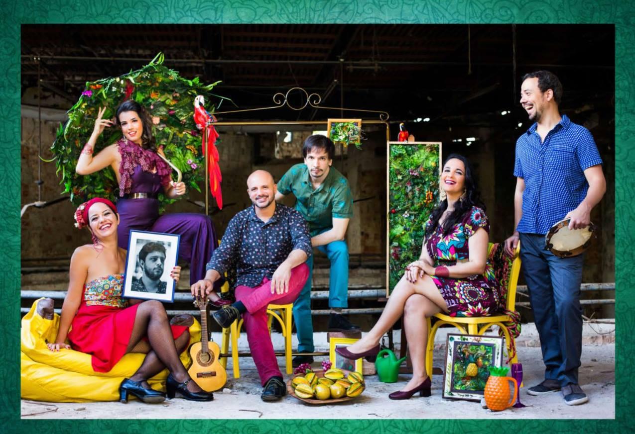 Vocal Group Ordinarius pays tribute to Carmen Miranda